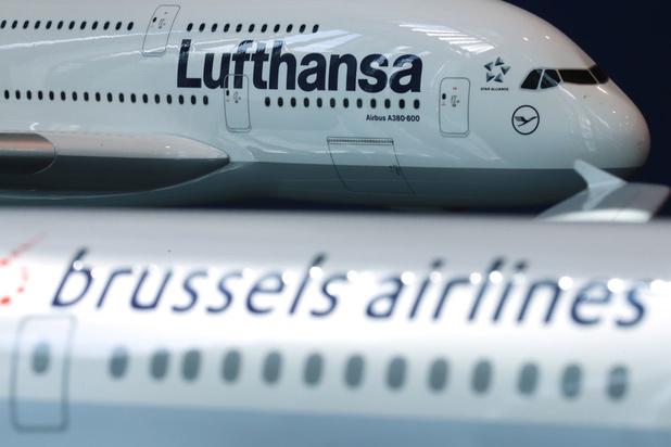 'Lufthansa betaalt de rekening van de Belgische verwarring'