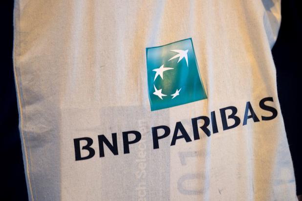 Kwartaalwinst BNP Paribas neemt af met een derde