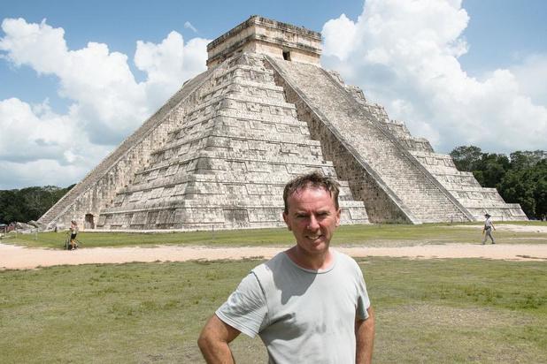 Globetrotter Dominiek Druart is met 'Dwars door Centraal- Amerika' aan zijn tiende reisreportage toe