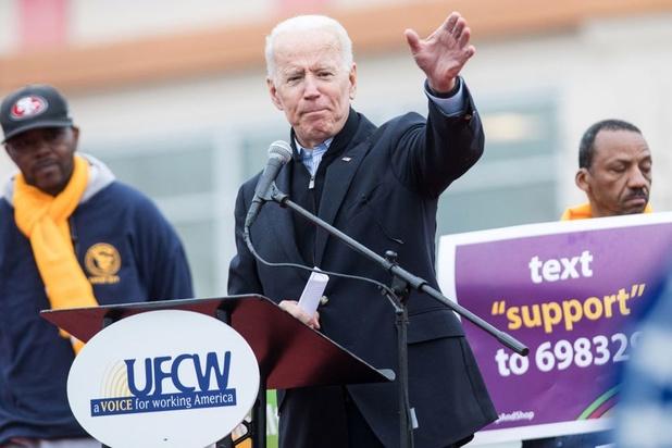 Joe Biden se pose en rempart contre Trump