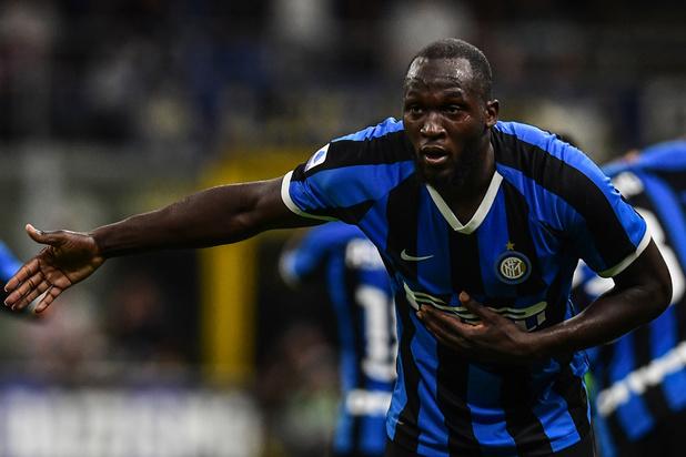 Romelu Lukaku opent meteen zijn rekening bij Inter