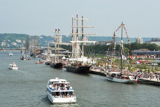 L'Armada, l'un des plus grands rassemblements de voiliers et navires du monde, débute à Rouen