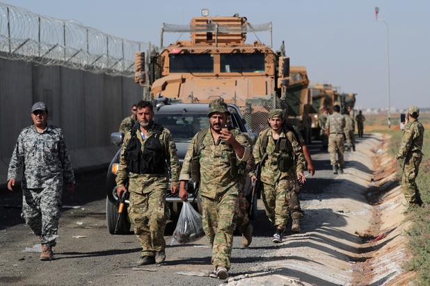 """Les forces kurdes appellent les Etats-Unis à assumer ses """"responsabilités morales"""""""