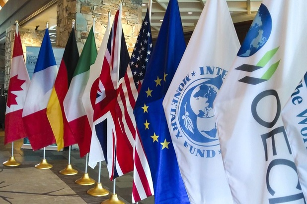 Les ministres des Finances du G7 se retrouvent sur fond de tensions sur la taxe GAFA