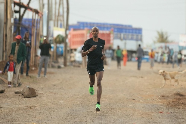 Mo Farah daagt Kipchoge uit in Marathon van Londen: 'Overal waar ik start, is dat met de overtuiging om te winnen'