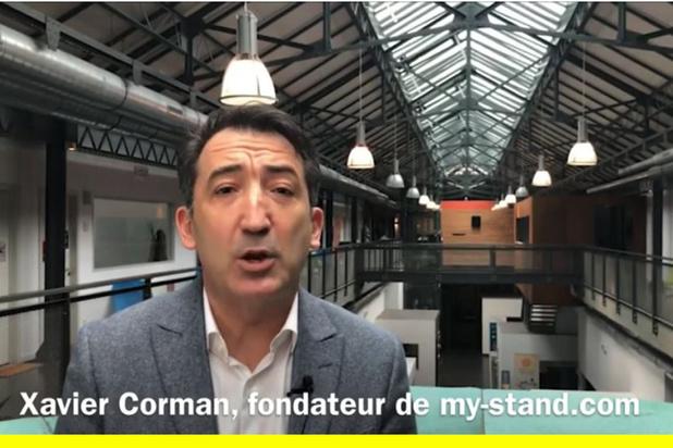 Le pitch de My-Stand.com par Xavier Corman  (vidéo)