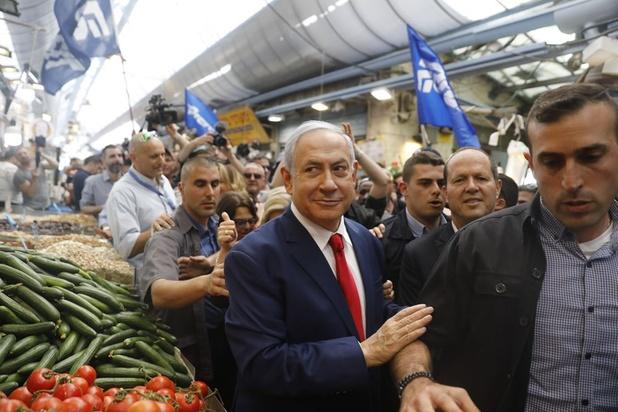 Politieke nieuwkomer bedreigt herverkiezing van premier Netanyahu