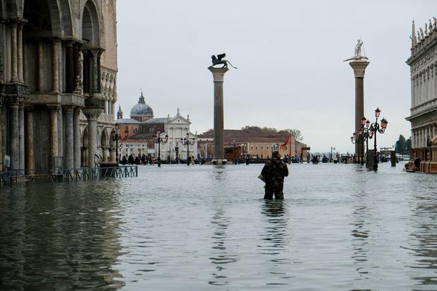 Venise en état de catastrophe naturelle