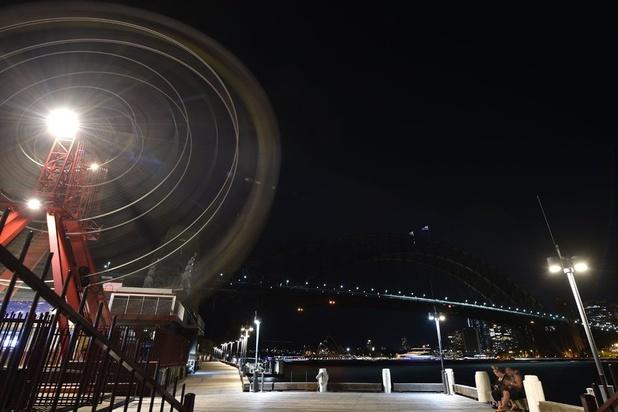 """Sydney dans le noir pour lancer l'opération mondiale """"Earth Hour"""""""