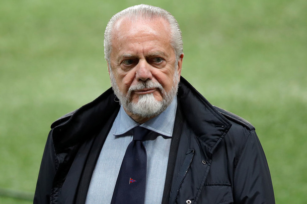 Le président de Naples testé positif