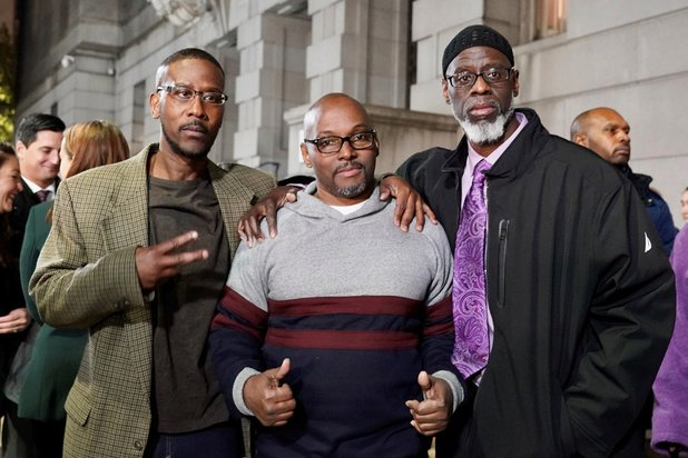 Trois hommes blanchis après 36 ans derrière les barreaux — États-Unis