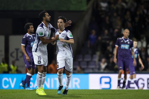 Anderlecht, Saint-Trond et Eupen se hissent difficilement en huitièmes de finale