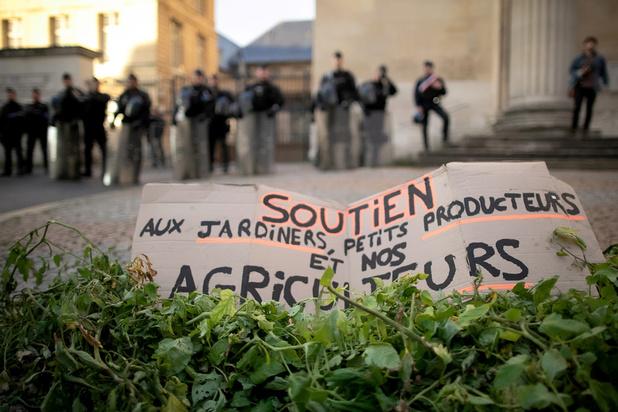 Incendie d'une usine Seveso: à Rouen, les produits frais locaux n'ont plus la cote
