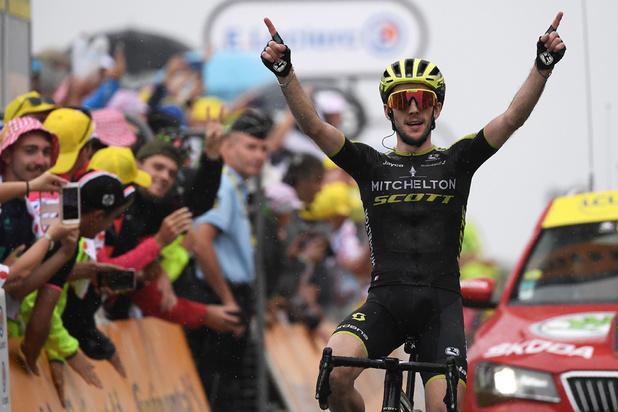 Tour de France: Simon Yates s'impose au Prat d'Albi, Alaphilippe distancé mais toujours en jaune