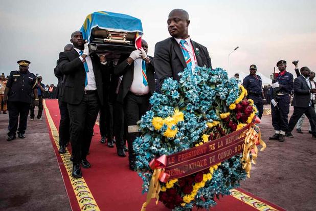 Etienne Tshisekedi enfin inhumé en présence de son fils président