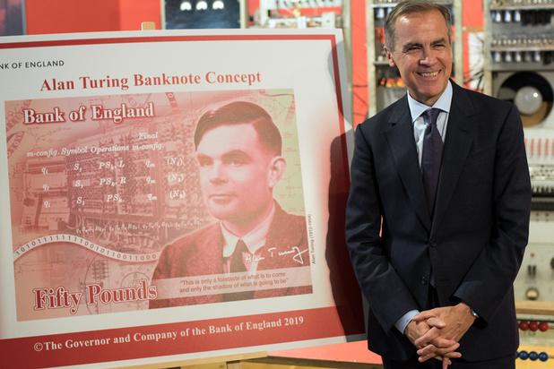 Le portrait du mathématicien Alan Turing ornera les billets de 50 livres