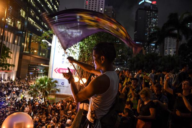 Antiregeringsbetoging in Hongkong trekt 1,7 miljoen mensen volgens organisatoren
