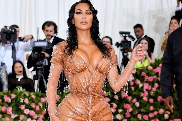 Le secret de Kim Kardashian pour parvenir à une taille ultra-fine lors d'un gala du MET