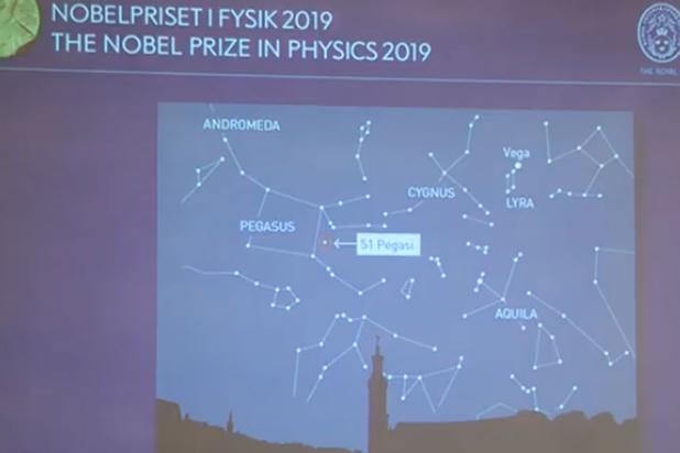 Le Nobel de physique à trois éminents cosmologues