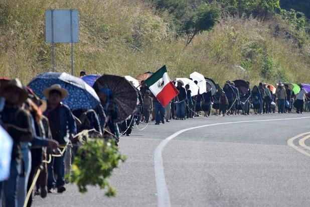Mexico bevriest bankrekeningen van mensenhandelaars