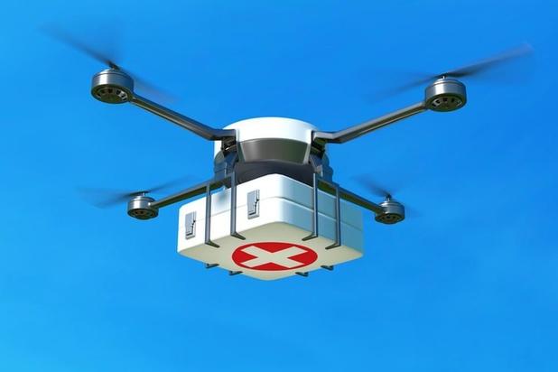 Antwerpse ziekenhuizen starten eind september met dronetransporten