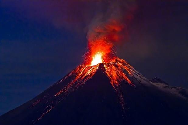 Les conséquences des fortes éruptions volcaniques accentuées par le réchauffement