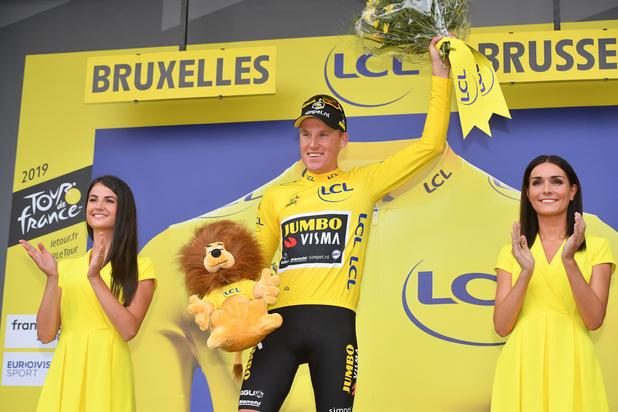 Tour de France : Le Néerlandais Mike Teunissen s'offre le premier maillot jaune