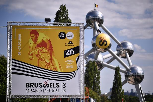 Tour de France : un chrono par équipes vers l'Atomium, 2e volet du Grand Départ à Bruxelles