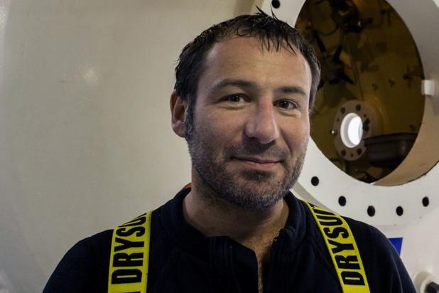 Frédéric Swierczynski, plongeur-spéléologue