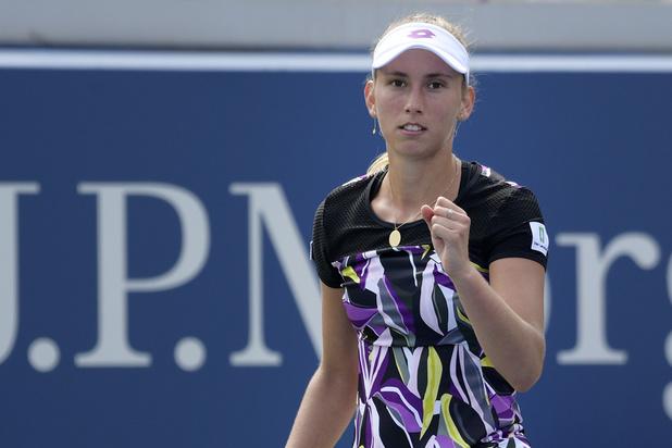 Elise Mertens pour la première fois en quarts de finale de l'US Open