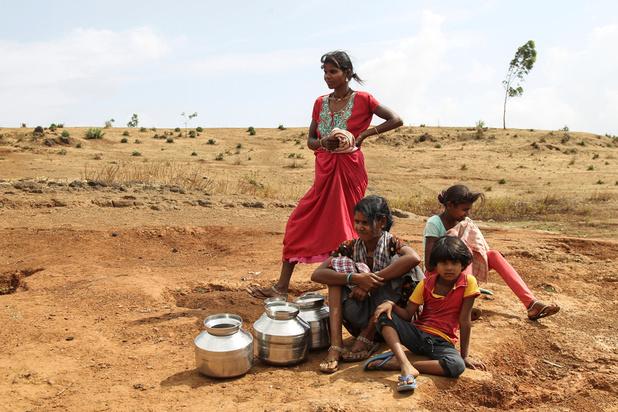 Inde : des centaines de villages désertés à cause de la chaleur