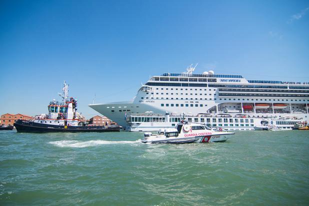 Venise appelle d'autres ports à s'unir contre les dangers des paquebots géants