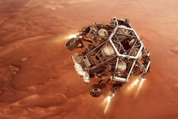 En quête de vie ancienne, le rover de la Nasa atterrit sur Mars dans quelques heures