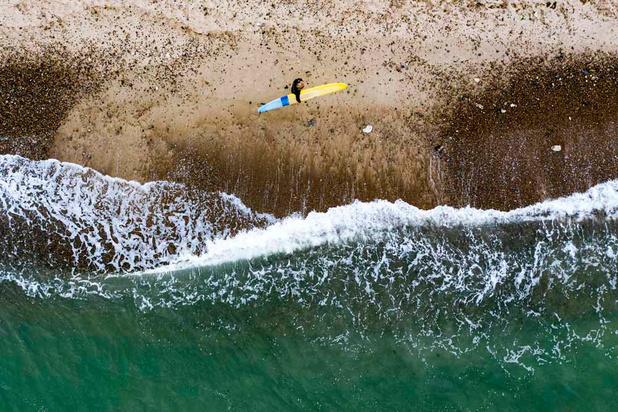 """""""Cold Hawaii"""": Faire du surf au Danemark"""