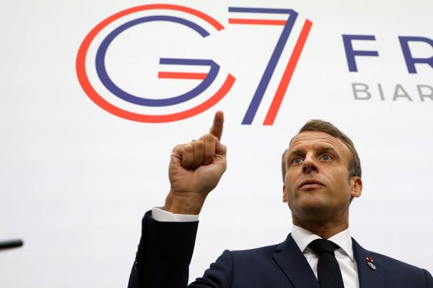 G7 zal 20 miljoen dollar noodhulp voor het Amazonewoud vrijmaken