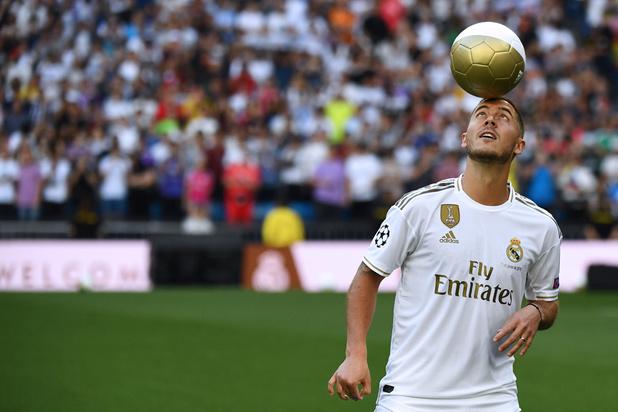 Eden Hazard: 'Voor Real spelen is al een droom sinds ik in de tuin begon te voetballen'