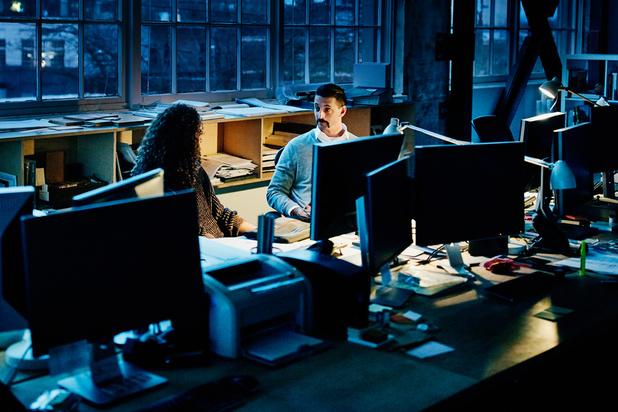 Les Belges travaillent moins de nuit et le week-end que dans le reste de l'Europe