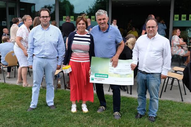 Bewonersplatform Voorstad Veurne organiseerde succesvol benefiet