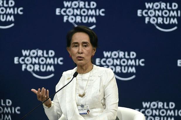 Aung San Suu Kyi ontkent 'genocidaire intenties' tegen Rohingya in Myanmar