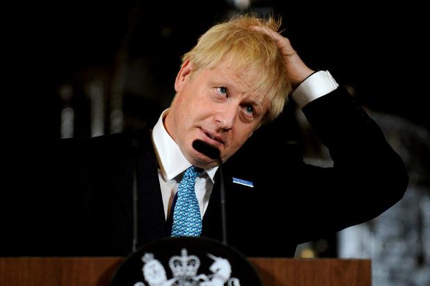 'Johnson riskeert om bij een vertrouwensstemming zo weer naar huis te worden gestuurd'