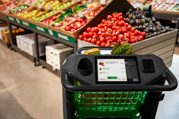 Amazon lance un chariot d'épicerie intelligent