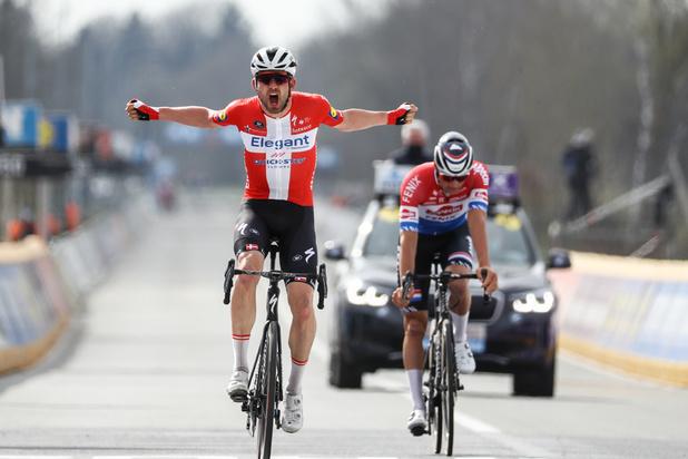 Tour des Flandres: Kasper Asgreen bat Mathieu van der Poel, et le prive du doublé