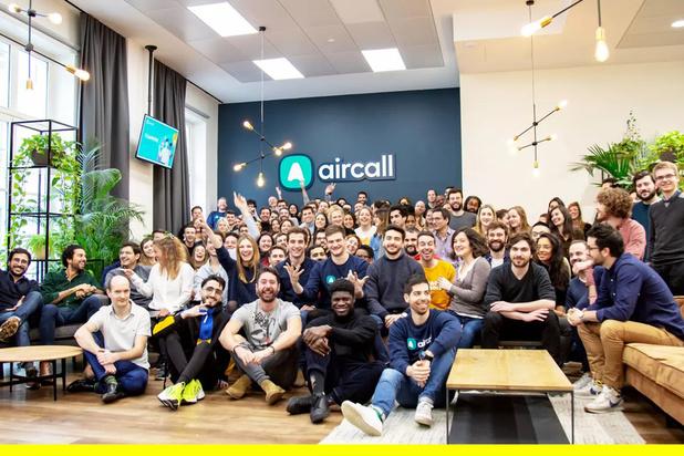 60 millions pour la start-up Aircall du studio eFounders