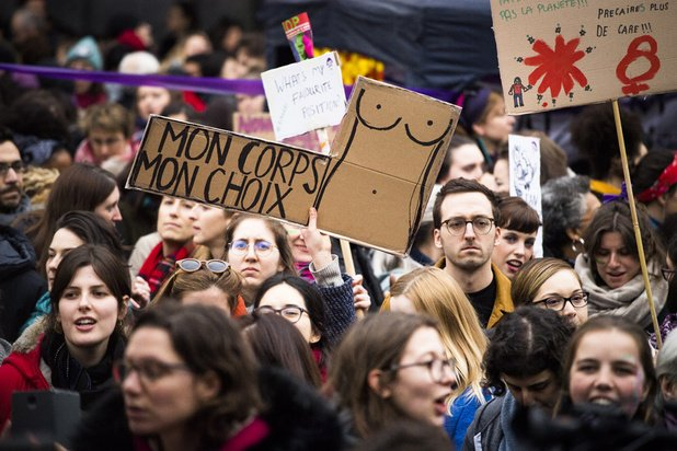 Vrouwenbeweging kondigt derde vrouwenstaking aan