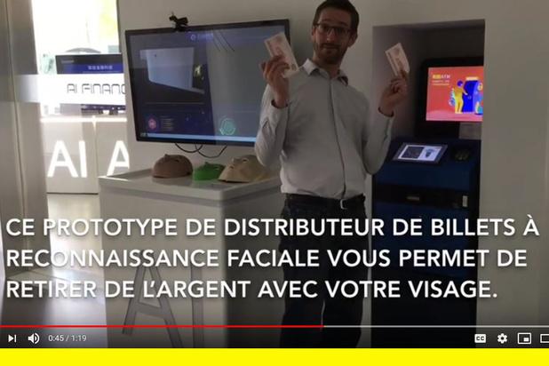 Un distributeur de billets à reconnaissance faciale? Les Chinois l'ont fait (vidéo)