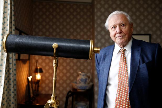 Crise climatique: il faut agir sans attendre, plaide le naturaliste Attenborough