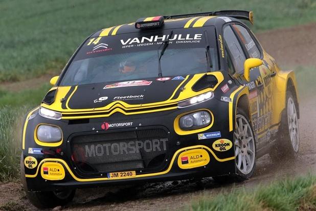 Fernémont wint Rally van Wallonië, Demaerschalk en Vanneste zesde