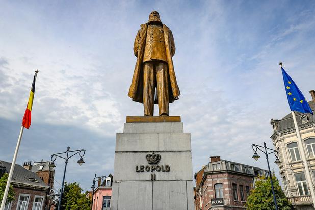 Passé colonial belge: Une statue de Léopold II retirée de l'Hôtel de Ville de Louvain
