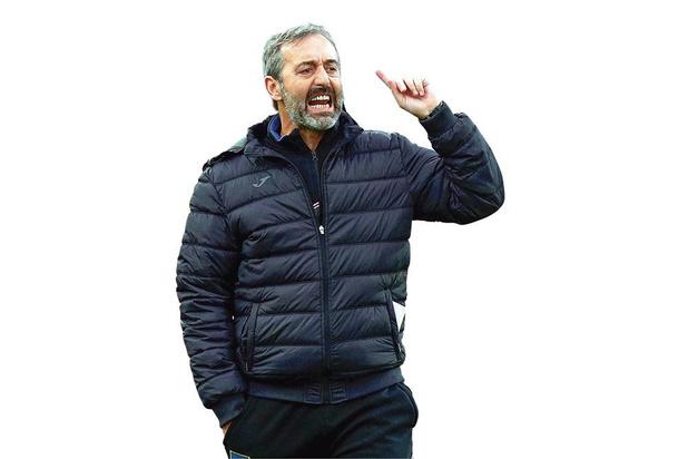 Marco Giampolo moet bij AC Milan hogeschoolvoetbal doceren