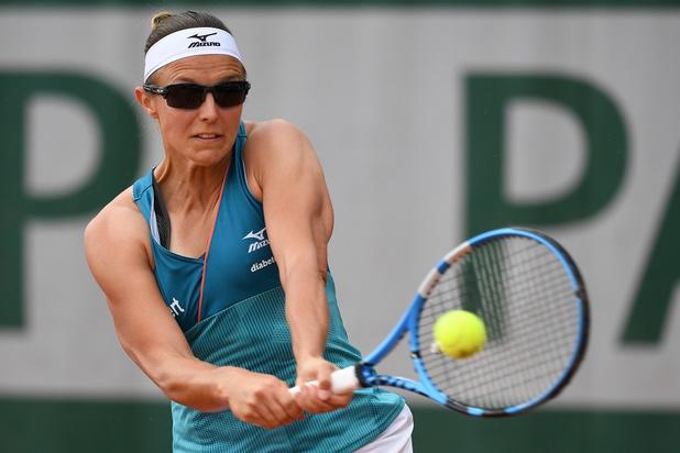 Flipkens éliminée d'entrée de jeu à Roland-Garros